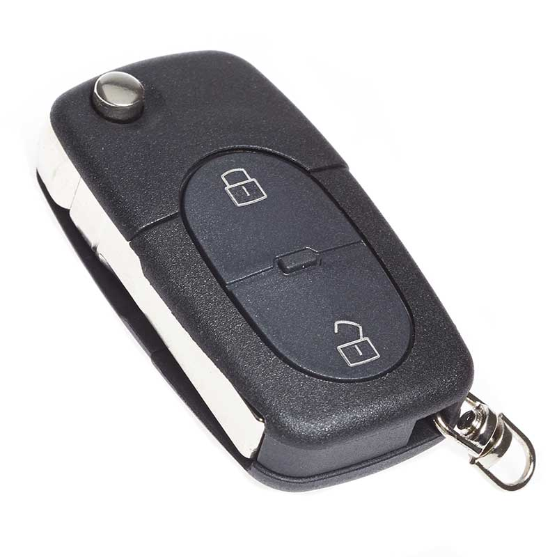 key fob blade 2 button small battery alarm switch audi a3 a4 propart 83020001 ebay. Black Bedroom Furniture Sets. Home Design Ideas