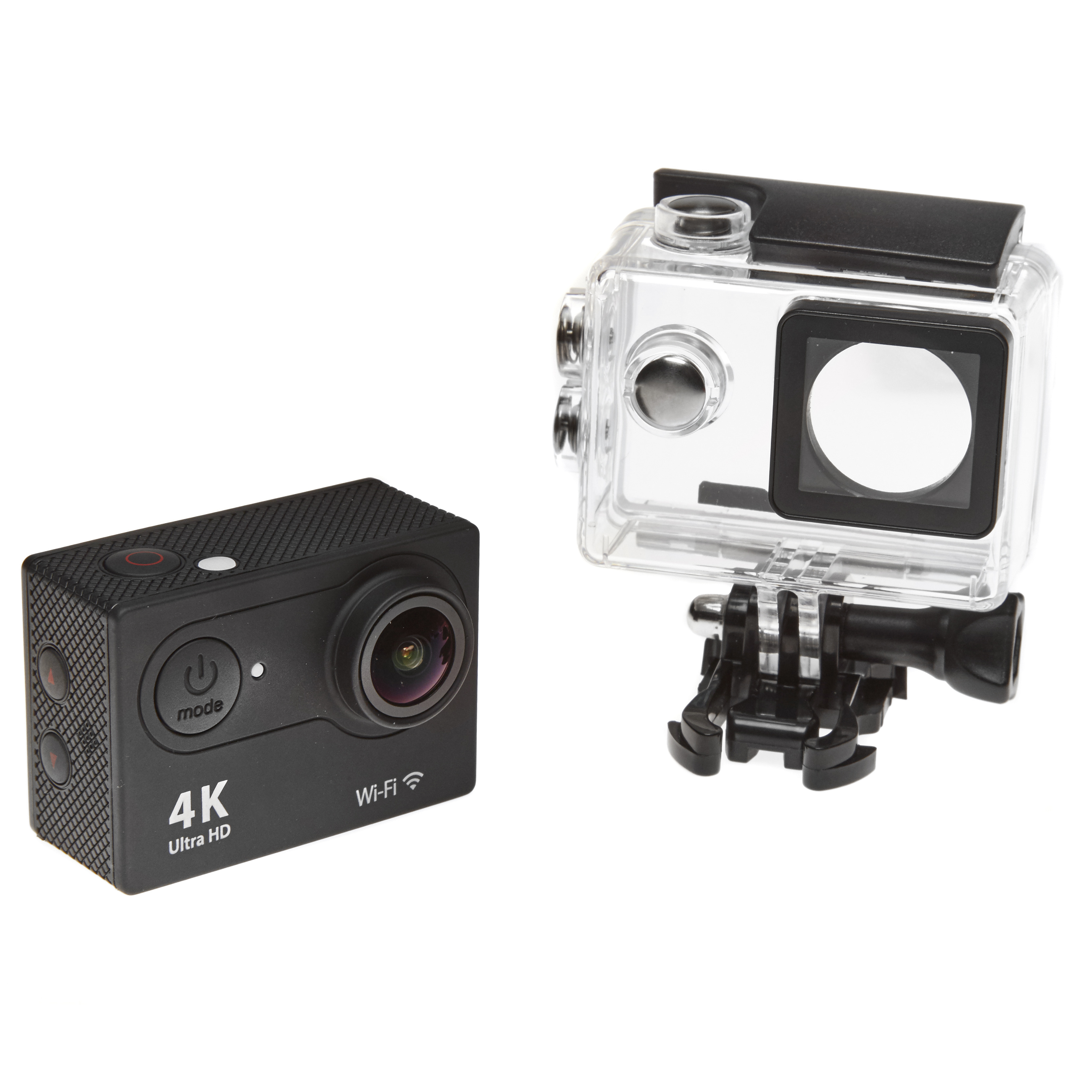 4k ultra hd outdoor action dash cam camera black super