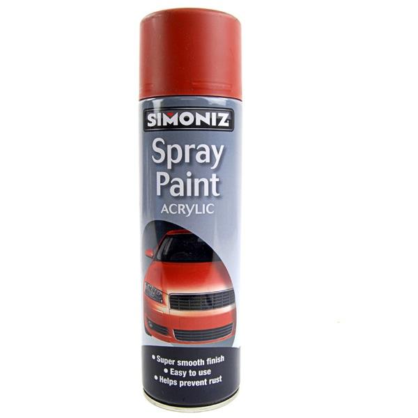 simoniz red oxide primer 500ml aerosol high quality. Black Bedroom Furniture Sets. Home Design Ideas