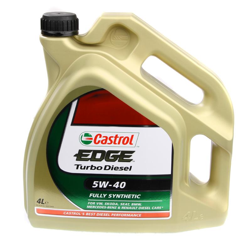 Castrol Edge 5w 40 With Titanium Fst Turbo Diesel Fully