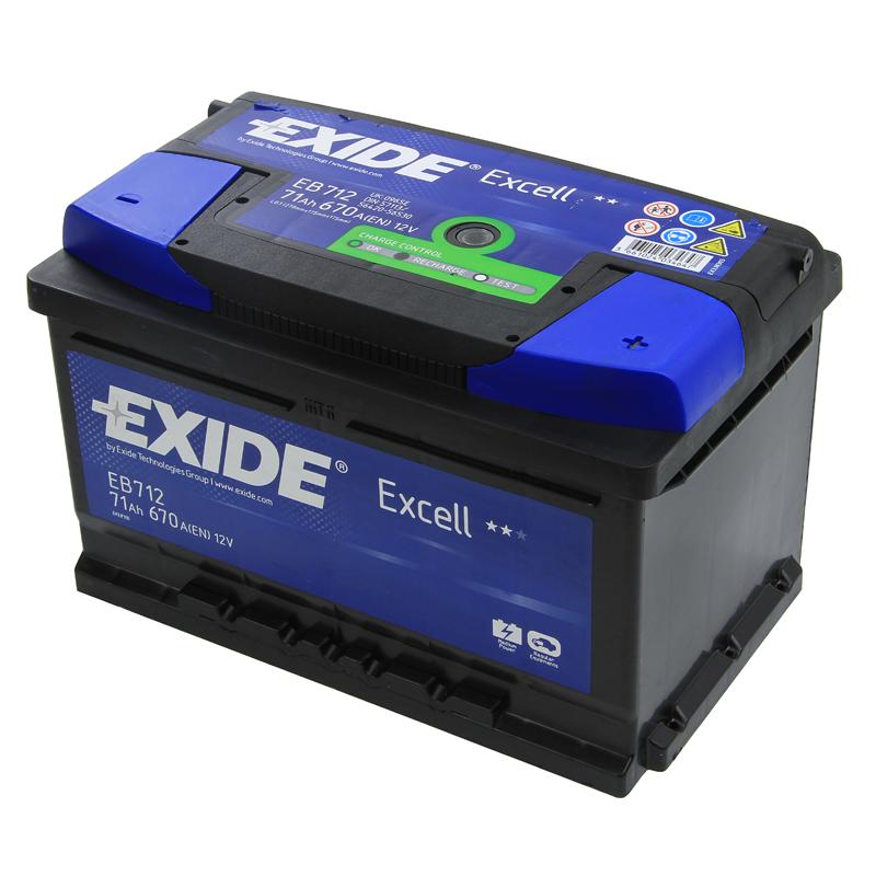 Exide Car Battery 12V 71Ah Type 100 670CCA 3 Years Wty Sealed OEM