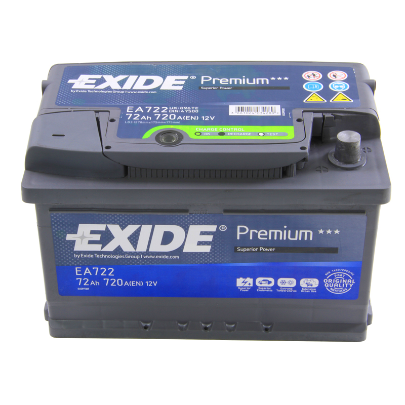 Ebay  Car Battery Eurocarparts