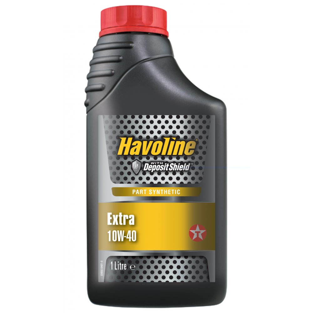Havoline extra 10w40 engine oil semi synthetic 1 litre for Is havoline motor oil good