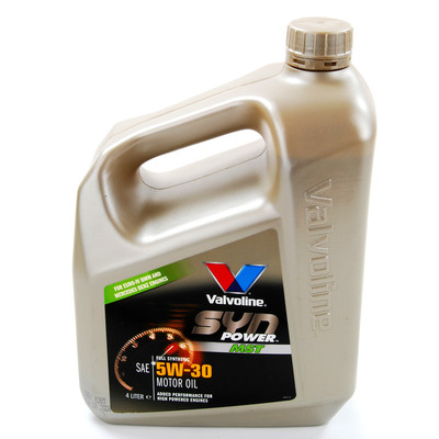 Valvoline synpower mst fully synthetic 5w30 engine oil 4 for Synthetic vs non synthetic motor oil