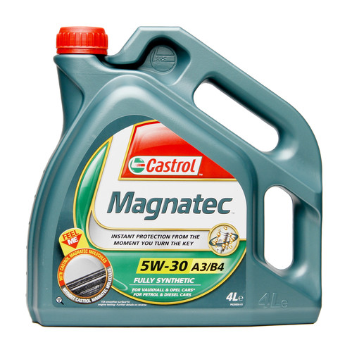 castrol magnatec 5w30 gm spec engine oil 4 litre ebay. Black Bedroom Furniture Sets. Home Design Ideas