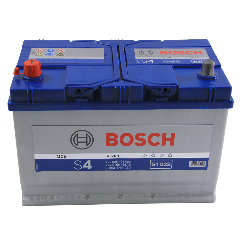 bosch s4 car battery type 334 337 4 year guarantee ebay. Black Bedroom Furniture Sets. Home Design Ideas