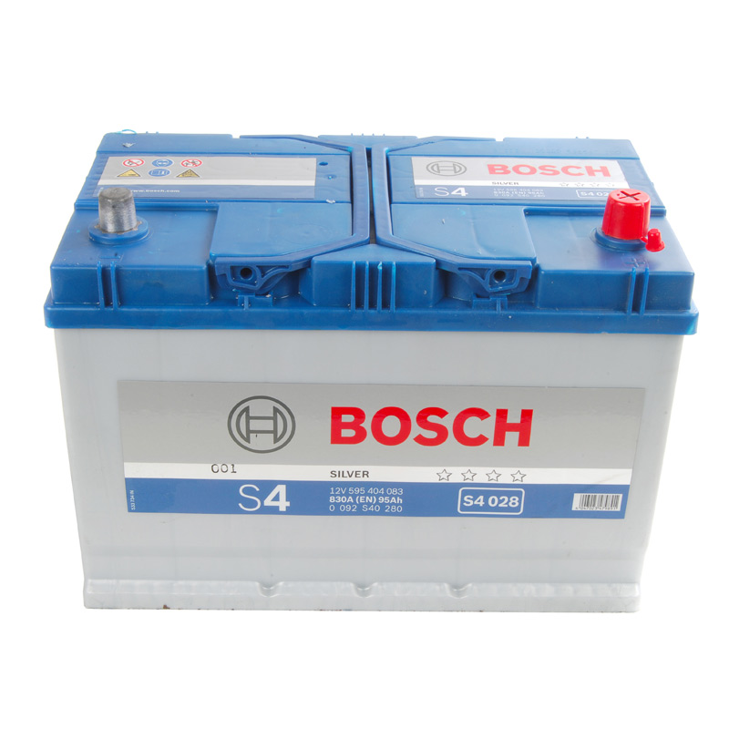 bosch s4 car battery type 335 336 4 year guarantee ebay. Black Bedroom Furniture Sets. Home Design Ideas