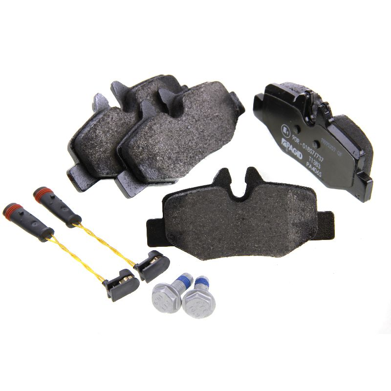 Mercedes benz vito viano w639 textar rear brake pads set for Mercedes benz e350 brake pads replacement