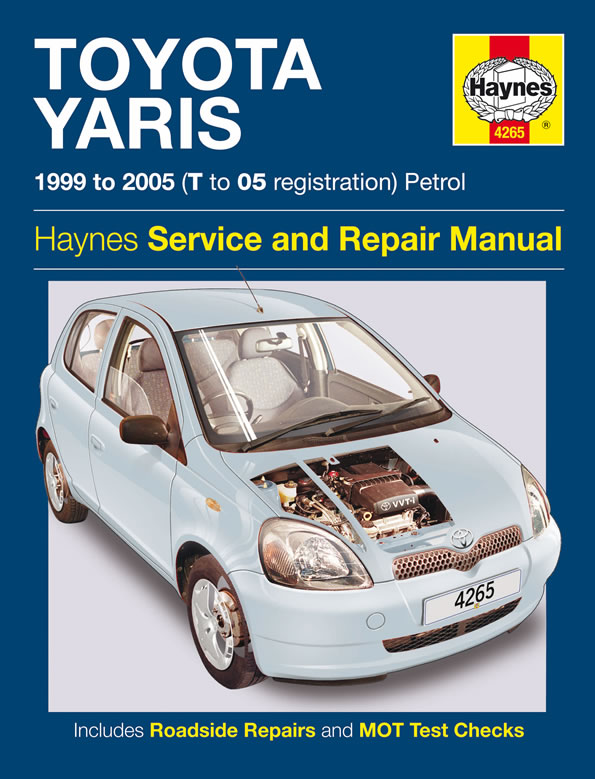 haynes workshop manual for toyota yaris petrol 99 05 ebay. Black Bedroom Furniture Sets. Home Design Ideas