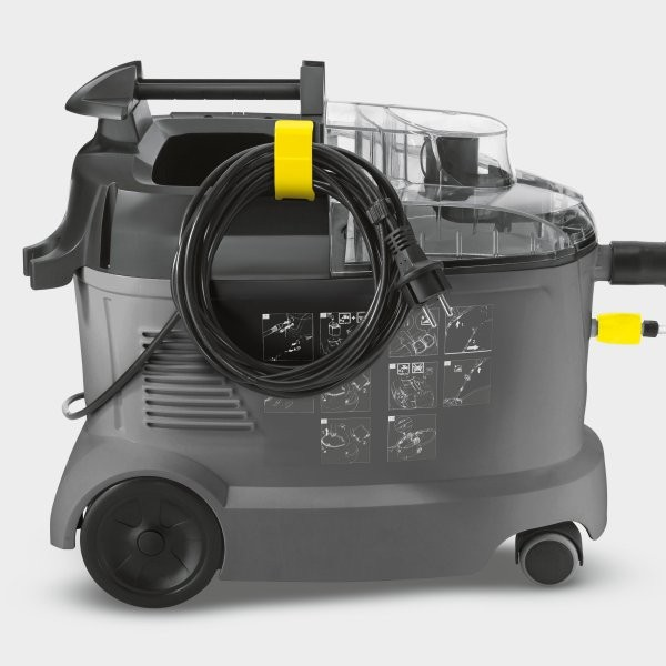 karcher puzzi 8 1 c compact carpet upholstery cleaner spot valet. Black Bedroom Furniture Sets. Home Design Ideas