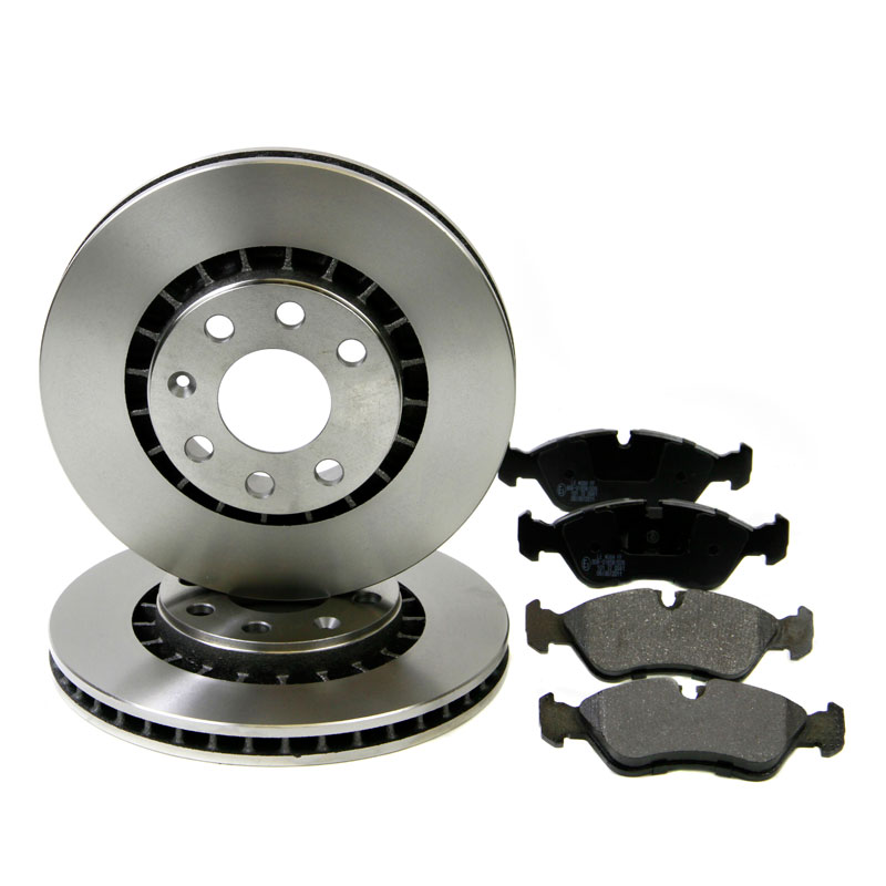 Pagid Front Brake Kit 266mm Vented Bosch System Discs