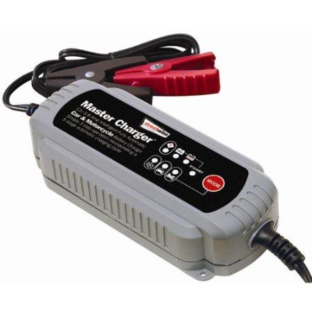Intelligent battery charger biltema