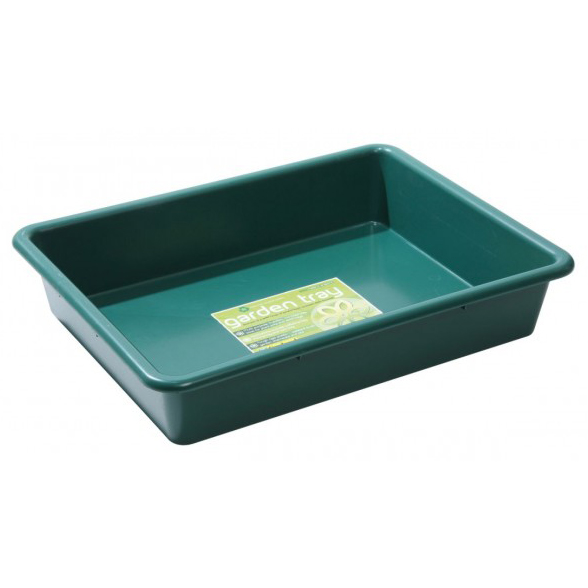 Heavy Duty Plastic Tray Garden Growbag Carry Storage