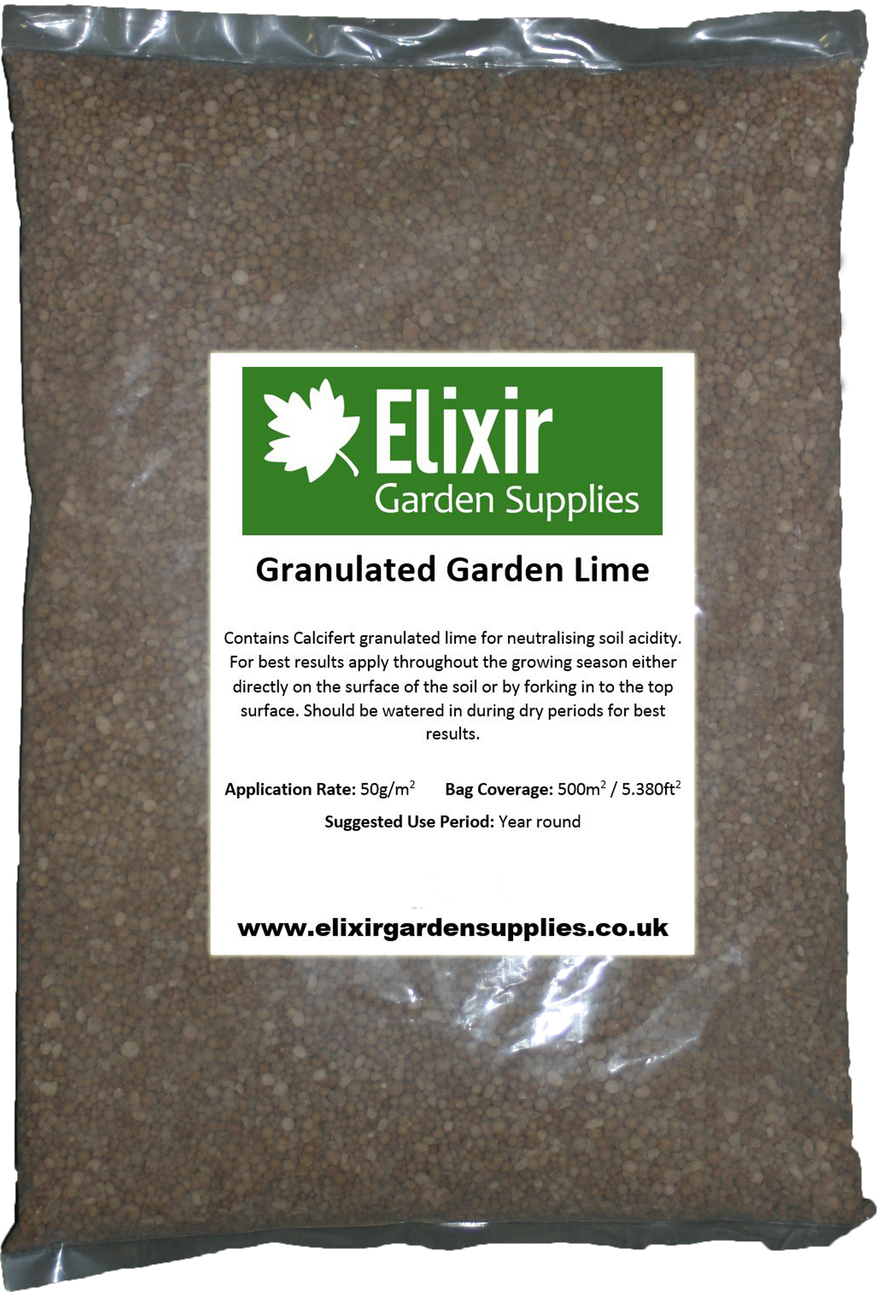 Garden lime granular agricultural limestone ph soil for Soil improver