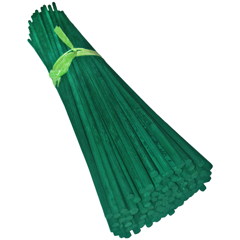 green split canes support sticks plant garden lily bulb