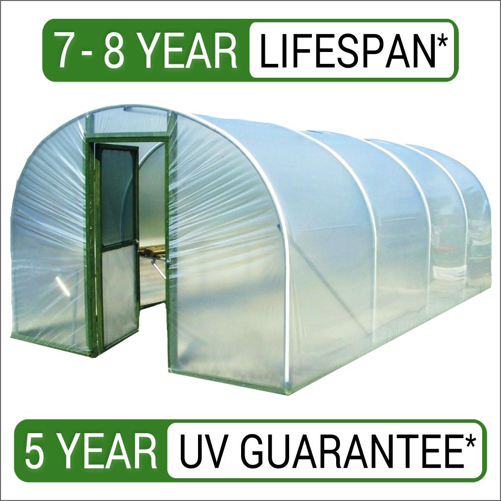 14 1mt Polytunnel Cover Plastic Sheeting Ebay