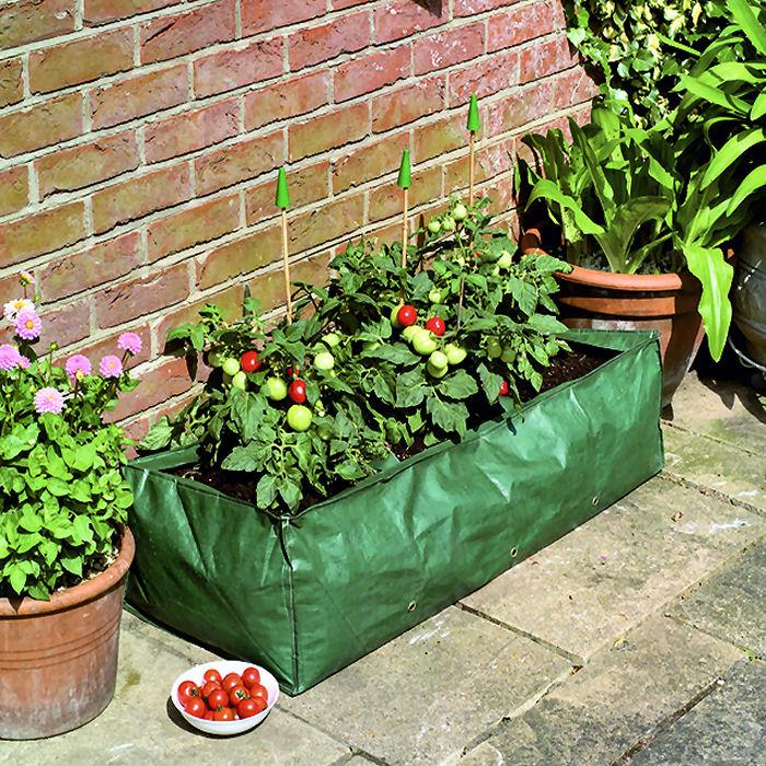 garland reusable grow bag planter tomato peas beans. Black Bedroom Furniture Sets. Home Design Ideas