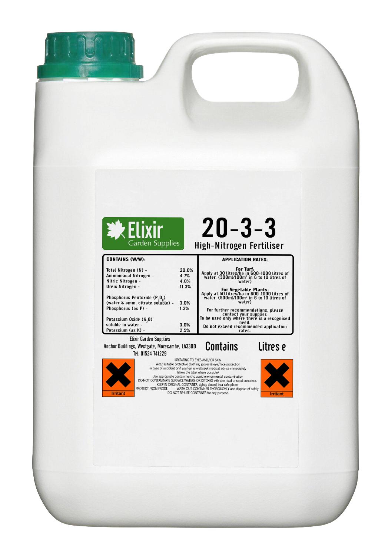 High Nitrogen Hydroponic Liquid Plant Food | Green & Leafy ...