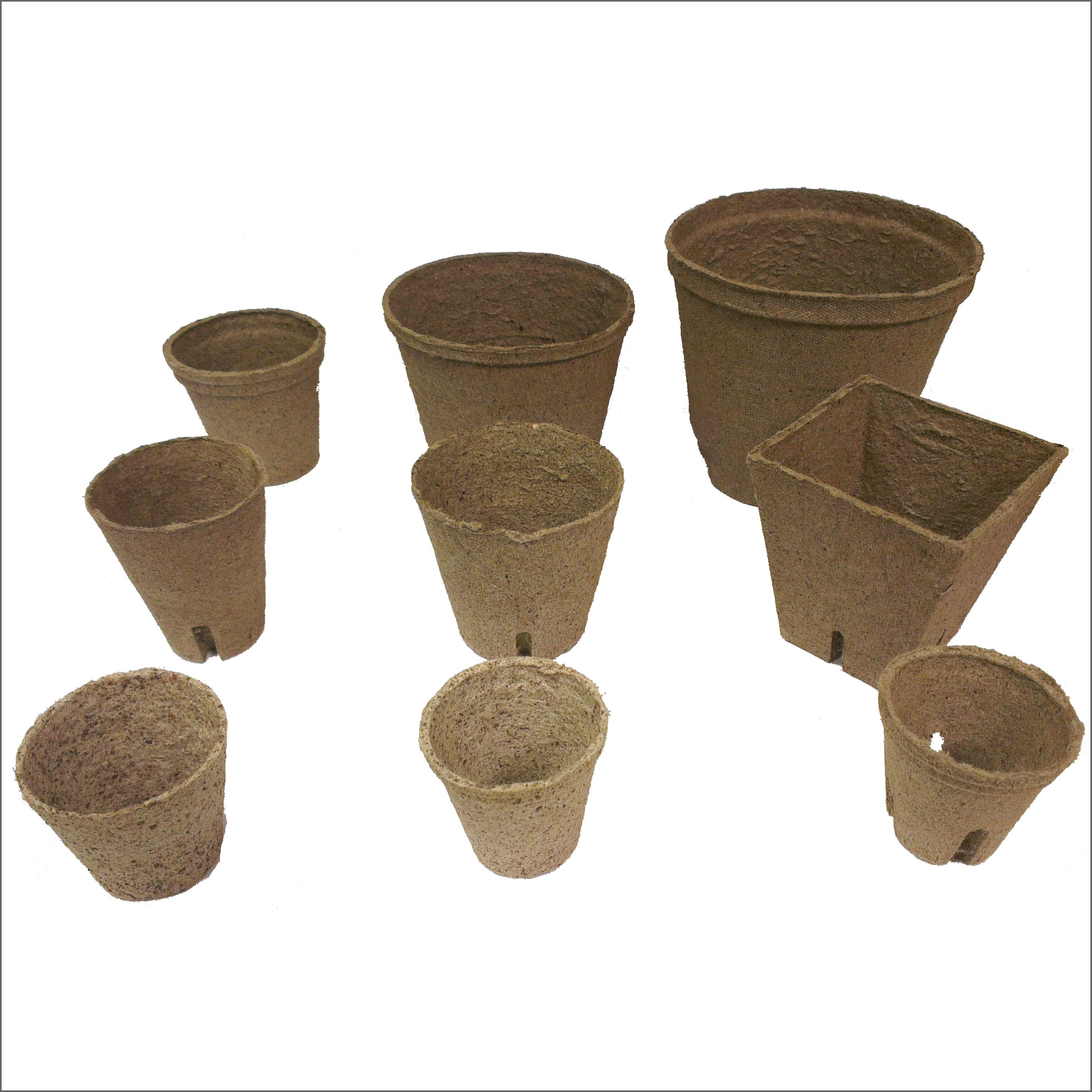Pots organique jiffy fibre pellets biod gradable croissance des graines fleur - Pot de fleur intelligent ...