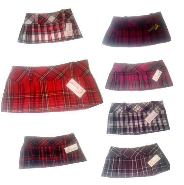 9-Long-Pleated-Tartan-Mini-Micro-Skirt-for-School-Girl-Fancy-Dress-Costume-8-14