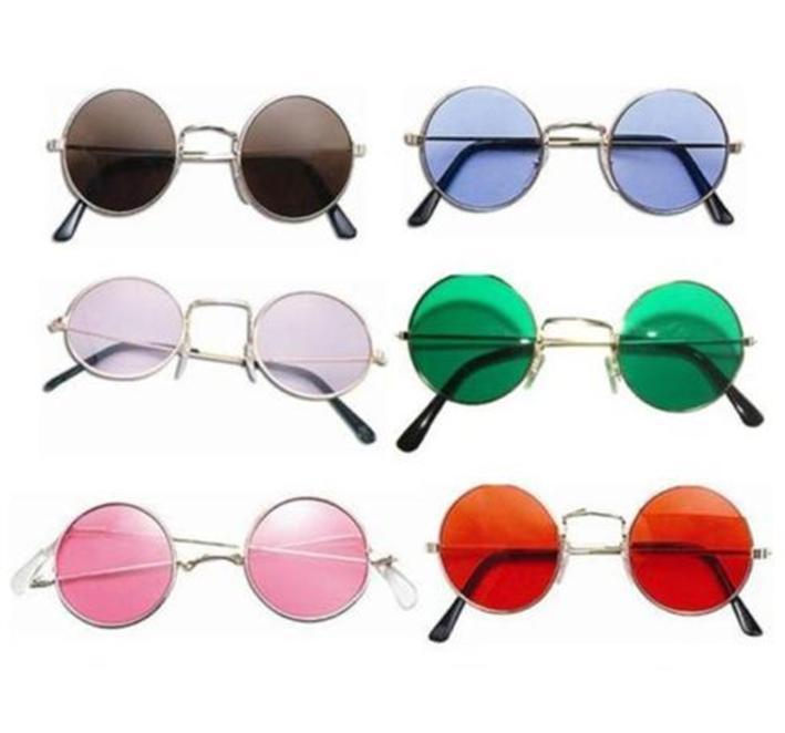 1970s 1960s Sunglasses Round Glasses Fancy Dress Hippie Hippy Lennon Beatles