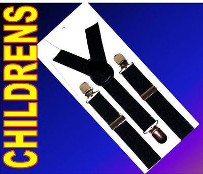 Childrens-Braces-Suspenders-Adjustable-Boys-Girls-New