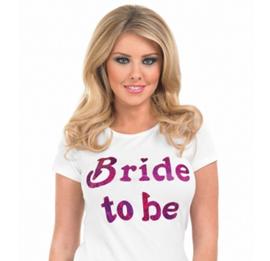 Bride to Be Iron on T Shirt Top Transfer Hen Night Party