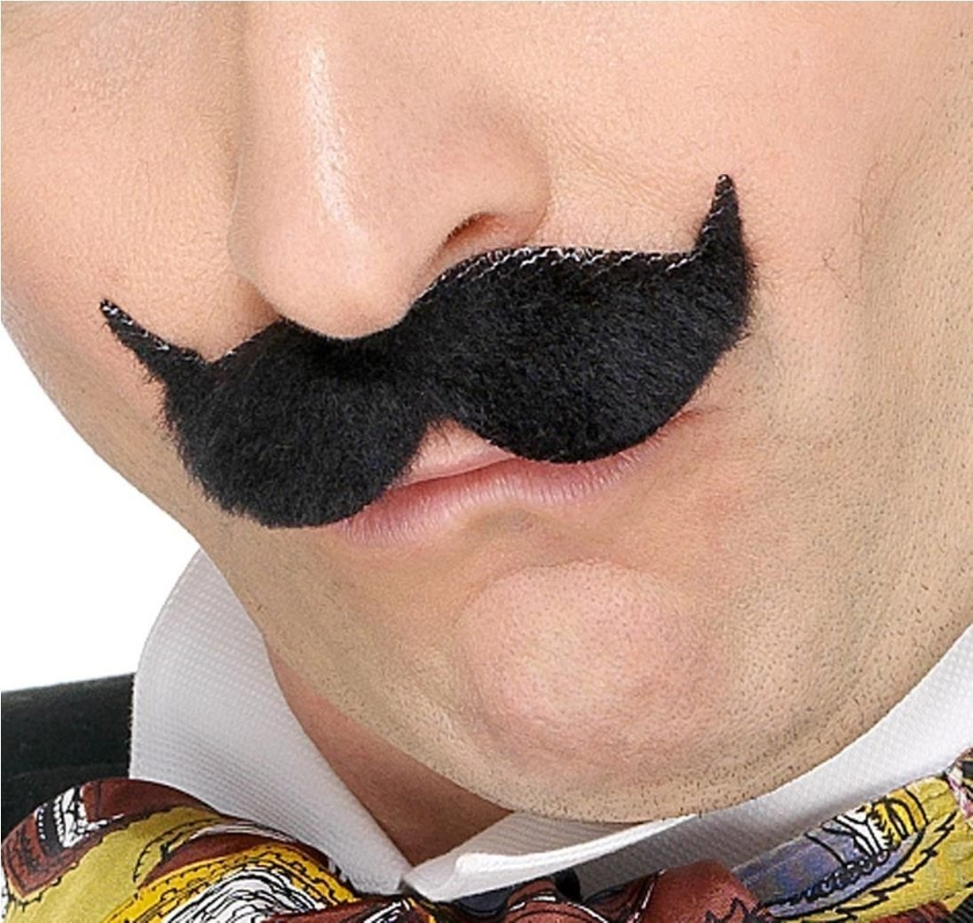 Victorian Edwardian Moustache Tash 1920s Fancy Dress
