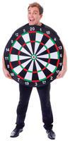 Adults Sport Dart Board Funny Fancy Dress Costume