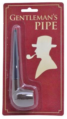 Bachelor's Pipe Edwardian Victorian Sherlock Gentleman Fancy Dress Accessory
