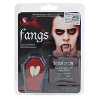 Vampire Dracula Fang Caps Teeth - Halloween Fancy Dress