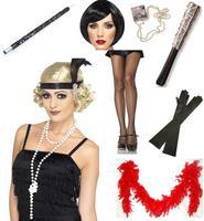 Flapper 1920s 20s Charleston Ladies Fancy Dress Accessories