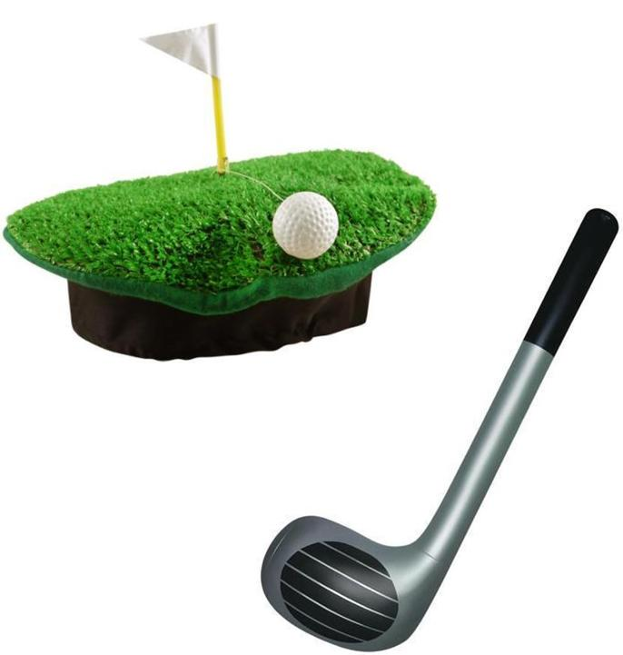 Crazy Golf Hats: Crazy Golf Hat And 92cm Inflatable Golf Club Fancy Dress