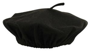 Bulk Buy Lot French Black Beret Hat Fancy Dress