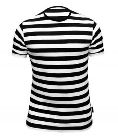 Mime artist french ladies mens striped t shirt top fancy for French striped shirt and beret