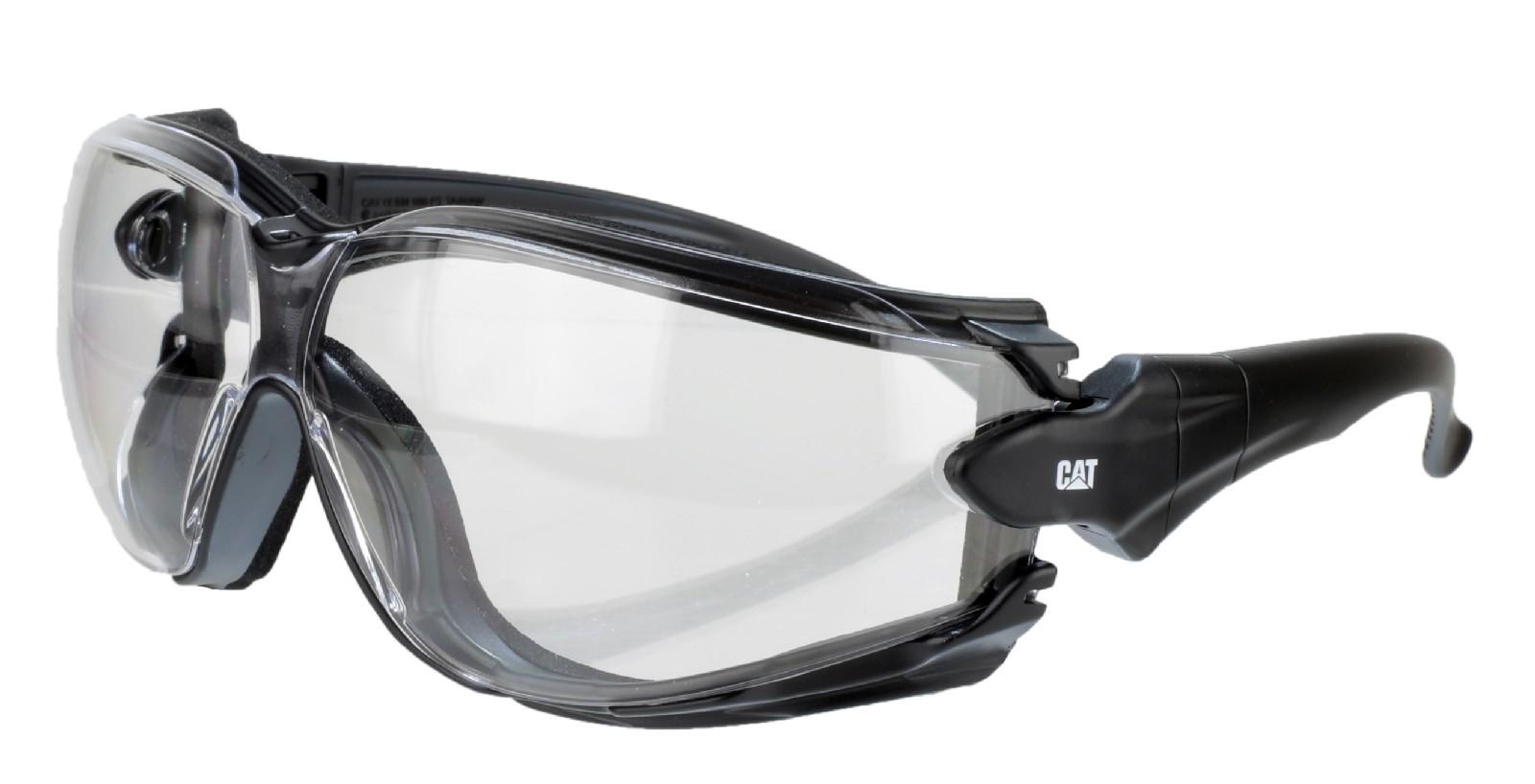 caterpiller cat torque light weight safety glasses work