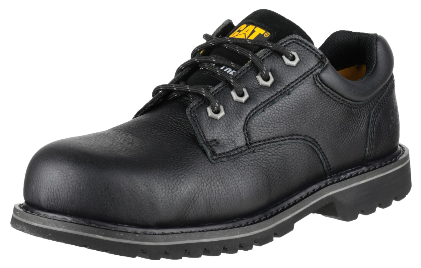 Caterpillar CAT Electric Lo Black Safety Work Shoes   EBay