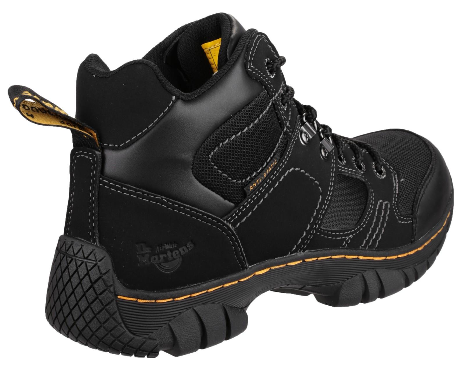 dr martens benham safety steel toe safety work boots ebay