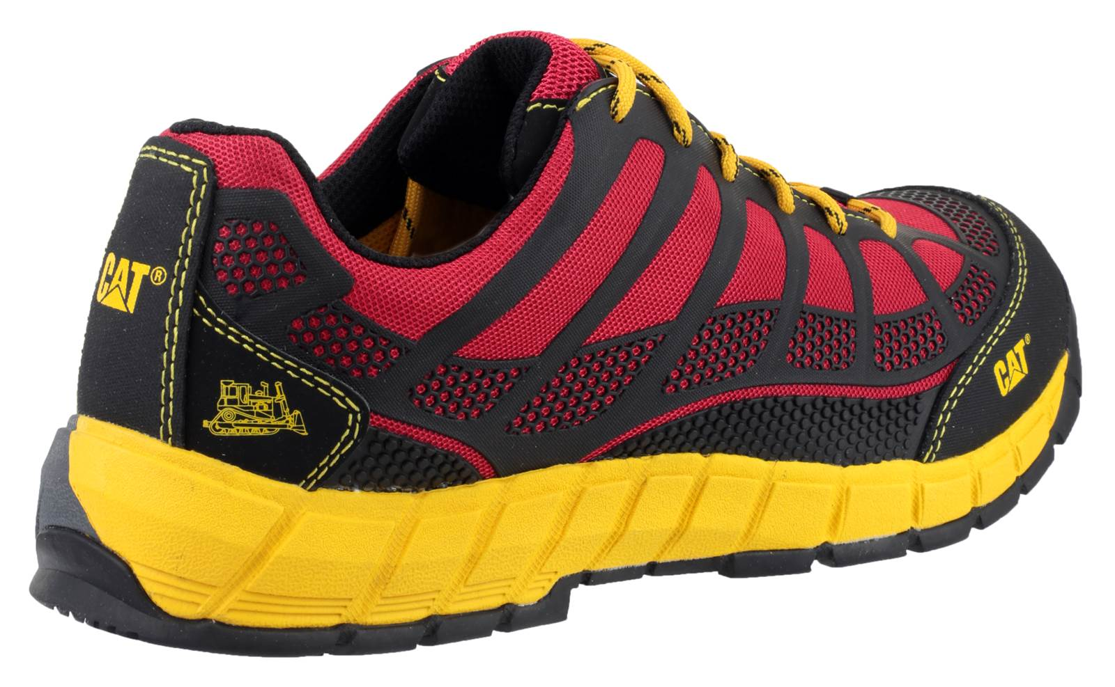 Caterpillar Cat Streamline S1p Safety Nubuck Trainer