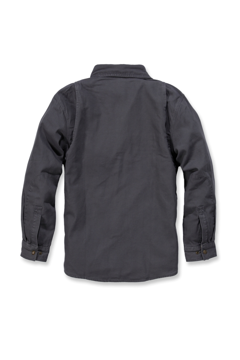 carhartt 39 100590 weathered canvas shirt jacket mens new workwear ebay. Black Bedroom Furniture Sets. Home Design Ideas
