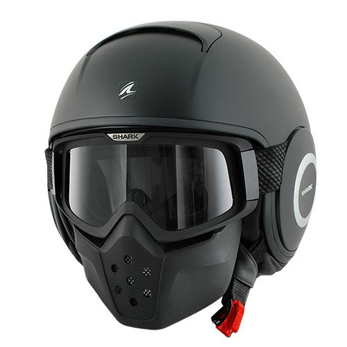 Shark Raw Blank Motorcycle Motorbike Scooter Urban Helmet  : 175845f1 Snowboarding Helmet <strong>with Mask</strong> from www.ebay.co.uk size 500 x 500 jpeg 24kB