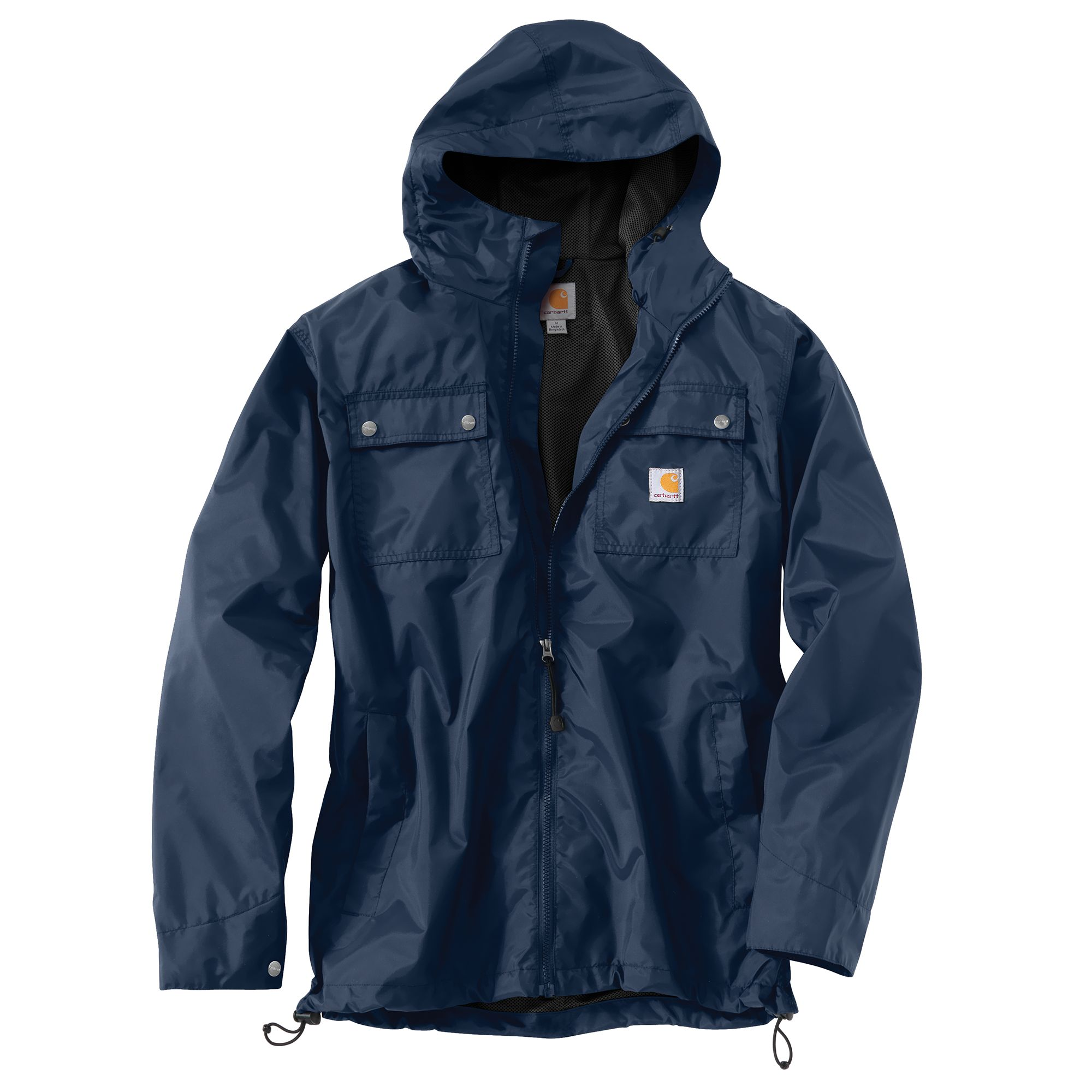 Carhartt Light Work Jacket: Carhartt 100247 Rockford Jacket Work Coat Dark Blue