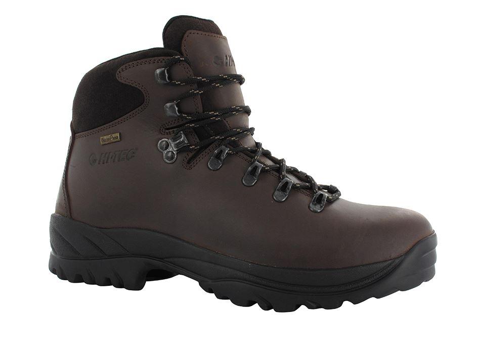 hi tec ravine mens new waterproof brown hiking walking