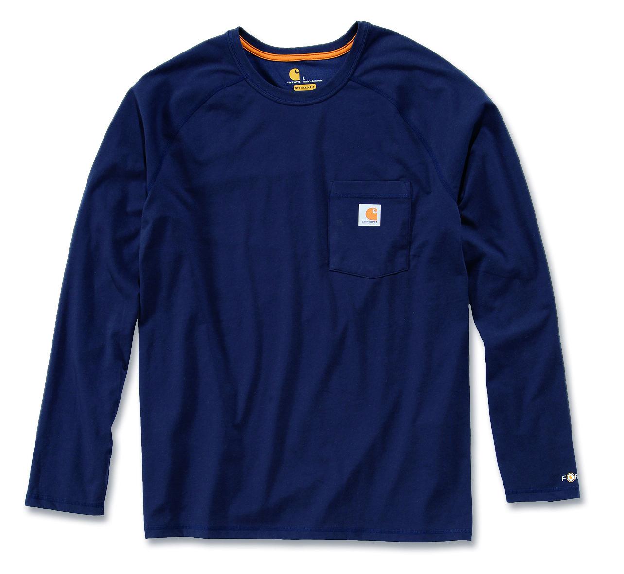 Carhartt 39 100393 Force Moisture Wicking Cotton Long Sleeve