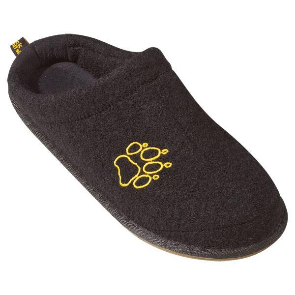 jack wolfskin cloud ten mens new wool felt slippers cosy. Black Bedroom Furniture Sets. Home Design Ideas