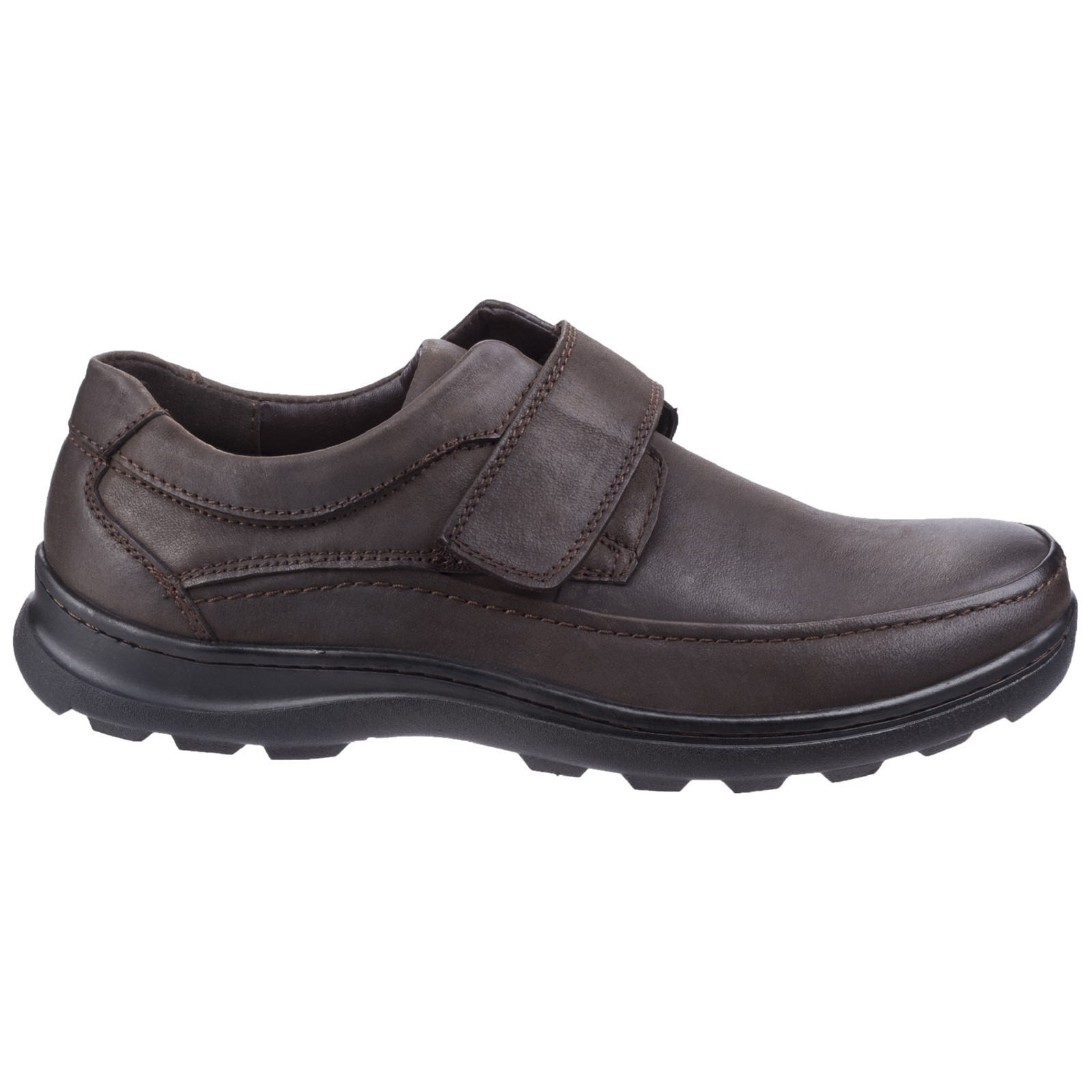 Fleet/&Fosster Hurghada Comfortable Velcro Slip On Mens Shoe