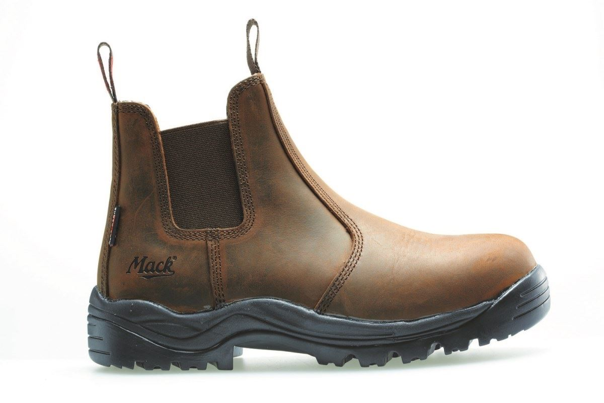 Mack Rider Safety Slip New Dealer Work Safety Boots Rocky Chelsea ...