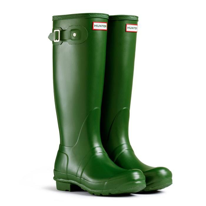Hunter-Original-Green-Wellington-Wellie-Boots-Non-safety