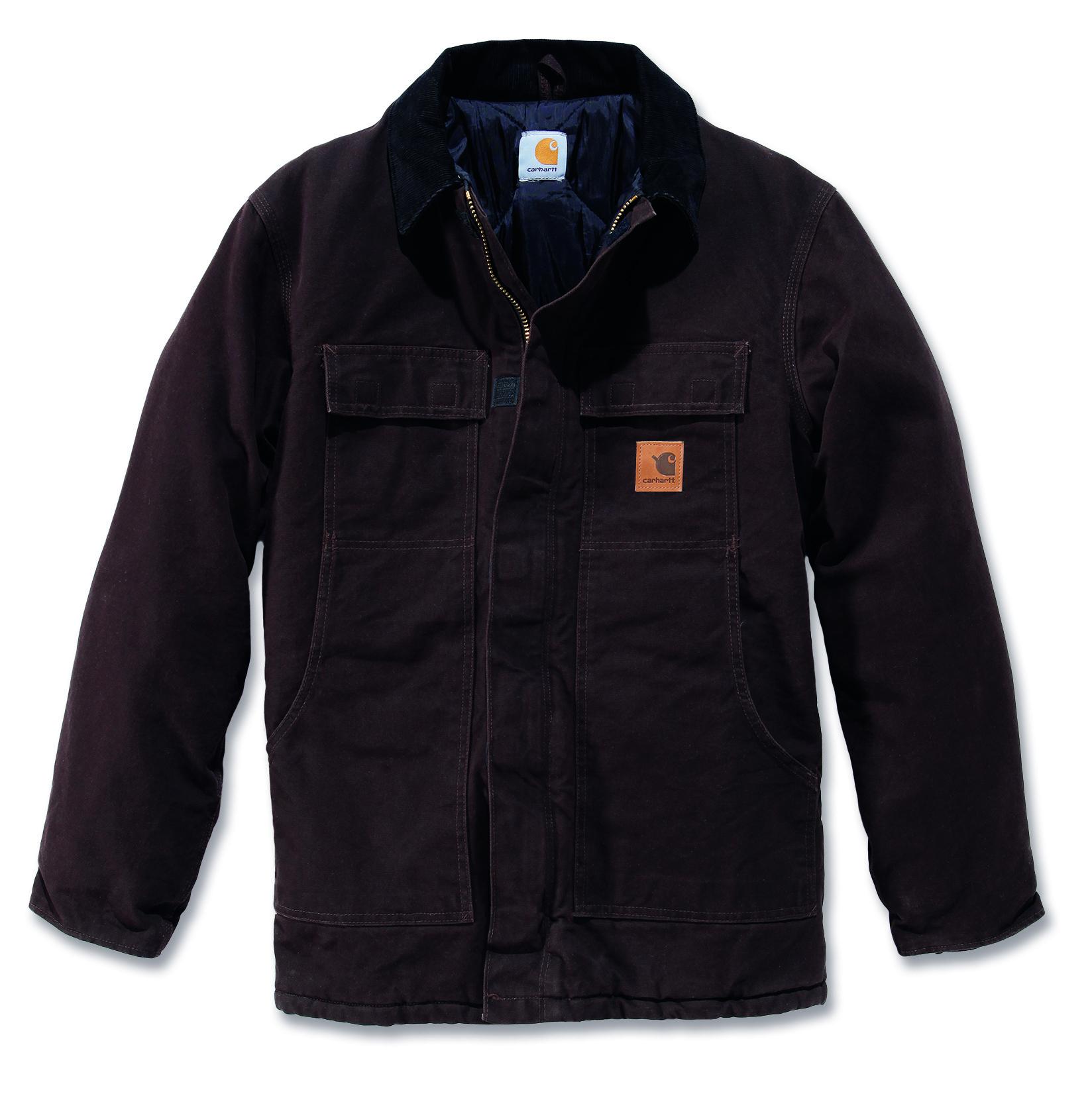 Carhartt' C26 Sandstone Traditional Coat Mens New Workwear ...