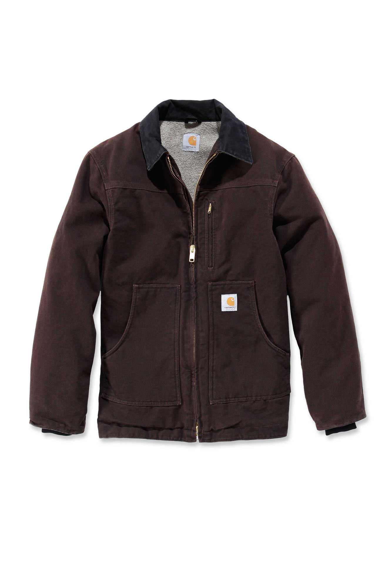 carhartt c61 sandstone ridge coat mens new workwear jacket ebay. Black Bedroom Furniture Sets. Home Design Ideas